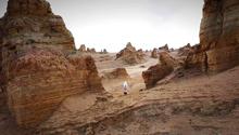 火星是什么样?带你看中国最像火星的地方之一:青海俄博梁